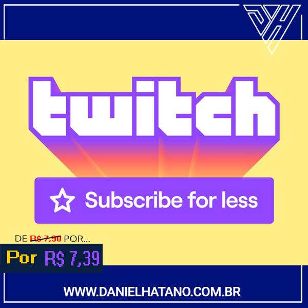 Twitch  - Subscription - 1 Mês