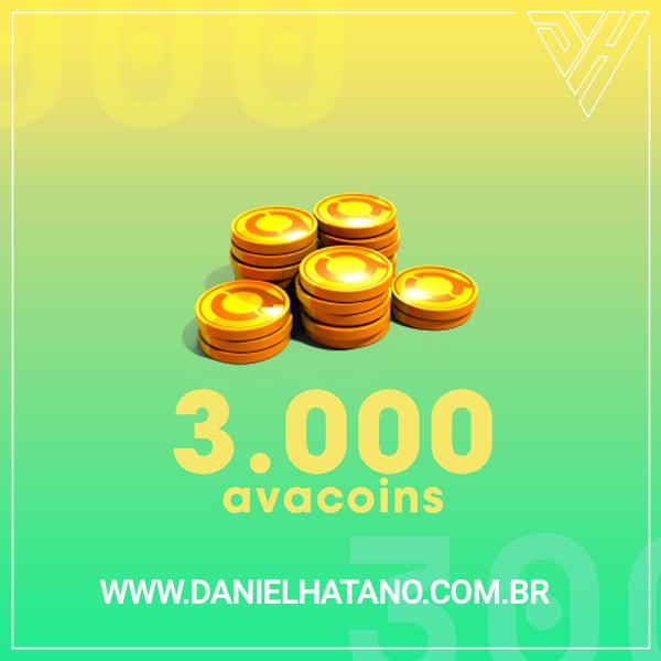 Avakin Life - 3000 Avacoins