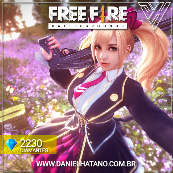 Free Fire - Diamante × 2.230 + Bônus
