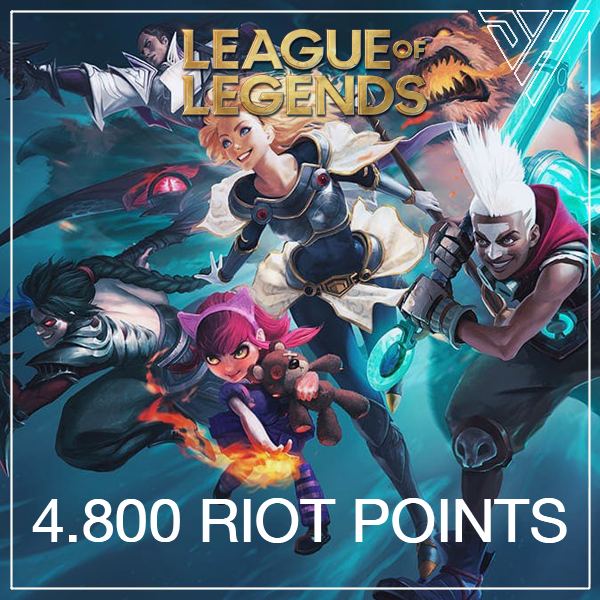 League of Legends - 4.800 Riot Points