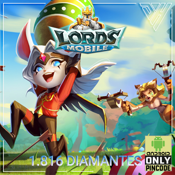 Lords Mobile - 1.816 Diamantes - [ANDROID]