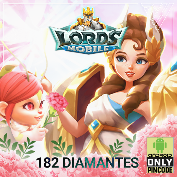 Lords Mobile - 182 Diamantes - [ANDROID]