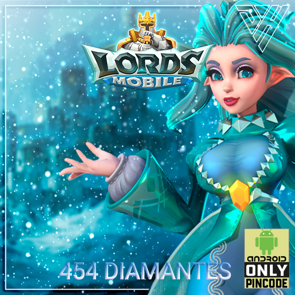 Lords Mobile - 454 Diamantes - [ANDROID]