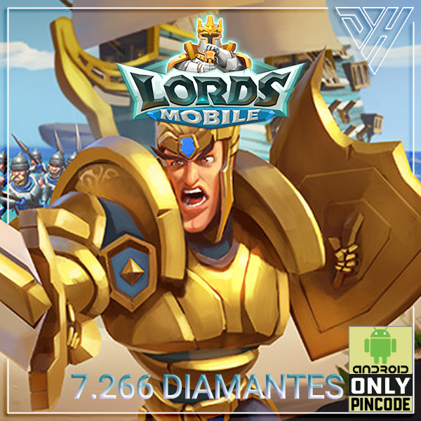 Lords Mobile - 7.266 Diamantes - [ANDROID]