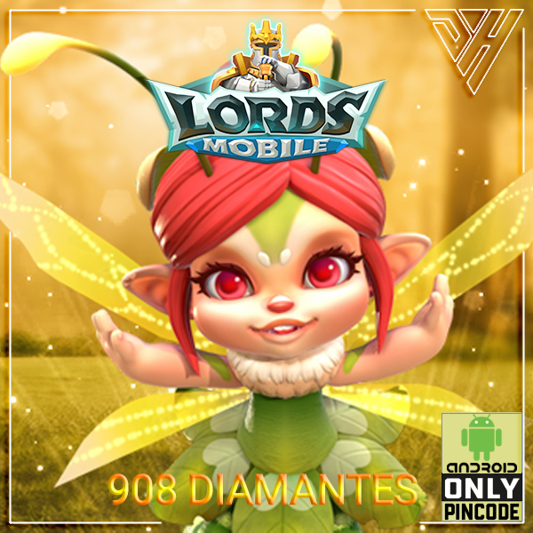 Lords Mobile - 908 Diamantes - [ANDROID]