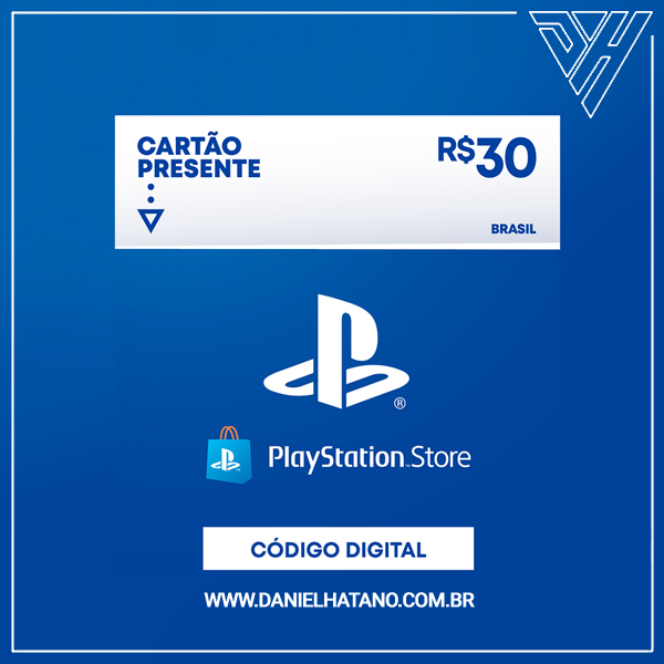 PlayStation™Store - 30 Reais