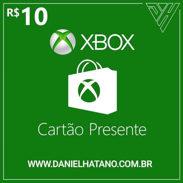 R$10 Xbox Store - Cartão-Presente Digital - [Exclusivo Brasil]