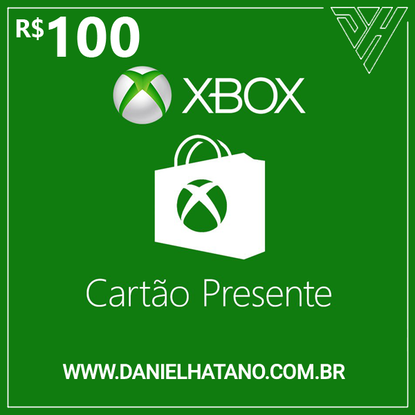 R$100 Xbox Store - Cartão-Presente Digital - [Exclusivo Brasil]