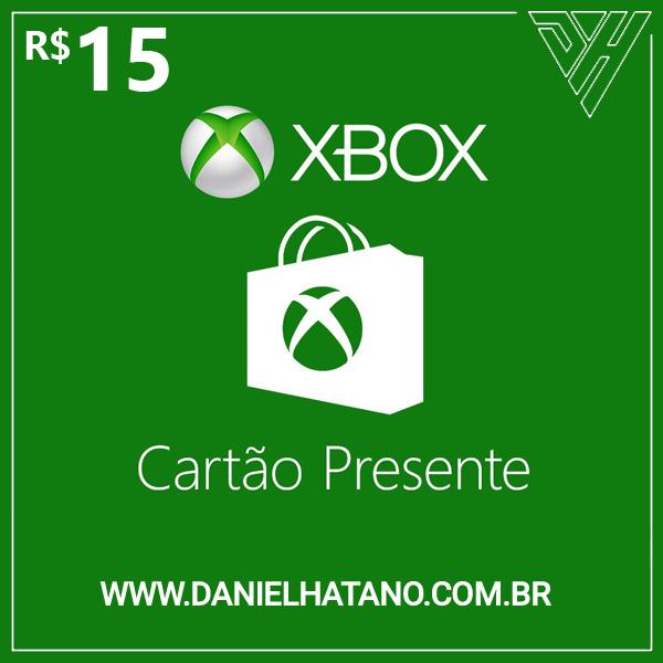 R$15 Xbox Store - Cartão-Presente Digital - [Exclusivo Brasil]