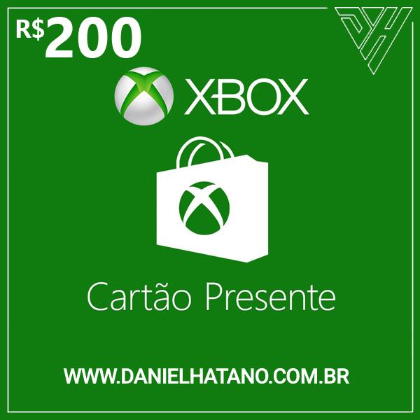 R$200 Xbox Store - Cartão-Presente Digital - [Exclusivo Brasil]