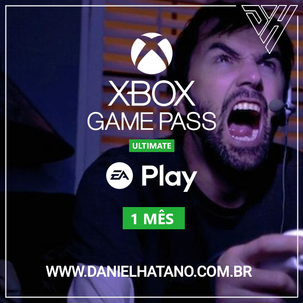 Xbox Game Pass Ultimate: 1 Mês De Assinatura - Digital [exclusivo Brasil]
