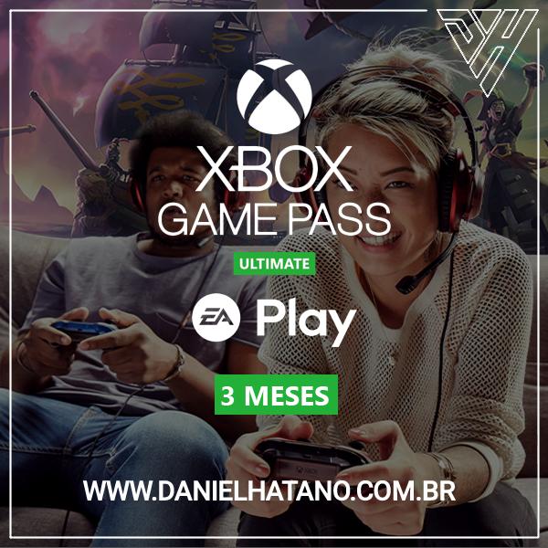 Xbox Game Pass Ultimate: 3 Meses De Assinatura - Digital [exclusivo Brasil]